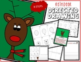 Christmas REINDEER Directed Drawing & Writing Prompts