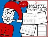 Directed Drawing - Christmas SANTA