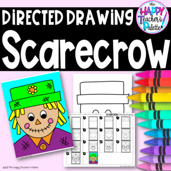 Directed Drawing ~ Scarecrow ~