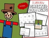 Directed Drawing - Halloween SCARECROW