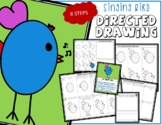 Directed Drawing - Spring Time SINGING BIRD