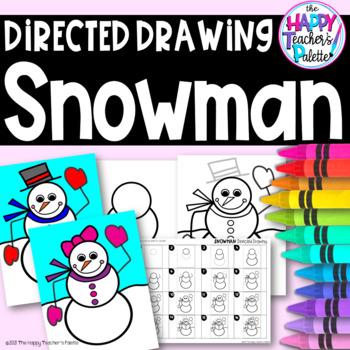 Directed Drawing ~ Snowman ~
