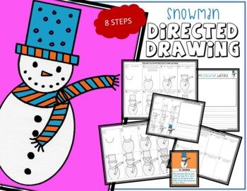 Directed Drawing - Winter SNOWMAN