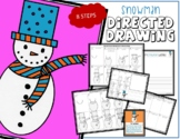 Winter SNOWMAN Directed Drawing & Writing Prompts