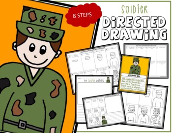 Veteran's Day & Memorial Day SOLDIER Directed Drawing & Writing Prompts