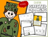 Veteran's Day & Memorial Day SOLDIER Directed Drawing & Wr