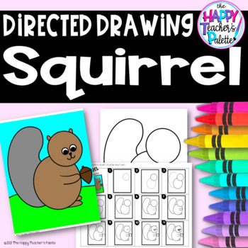 Directed Drawing ~ Squirrel ~