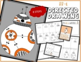 STAR WARS BB-8 Directed Drawing & Writing Prompts