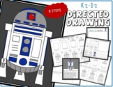 Star Wars R2D2 Directed Drawing & Writing Prompts