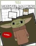 Star Wars YODA Directed Drawing