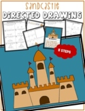 Summer SANDCASTLE Directed Drawing & Writing Prompts