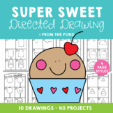 Directed Drawing {Sweet Treat Theme}