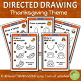 Directed Drawing - Thanksgiving Theme