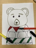Directed Drawing - Ugly Sweater Bears