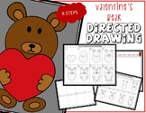 Directed Drawing - Valentine's Day BEAR