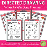 Directed Drawing - Valentine's Day Theme