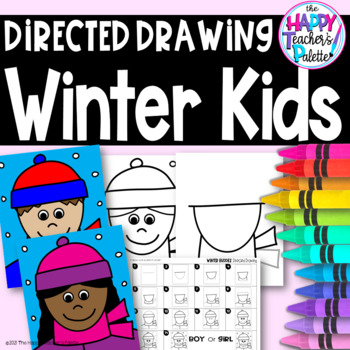 Directed Drawing ~ Winter Buddies ~