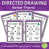 Directed Drawing - Winter Theme