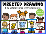 Directed Drawing With Writing Prompts Africa (45 pgs) Whimsy Workshop Teaching