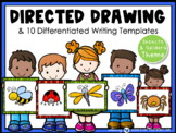Directed Drawing With Writing Prompts - Bugs (45 pgs) Whimsy Workshop Teaching