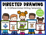 Directed Drawing With Writing Prompts - 5 PETS (45 pgs) Whimsy Workshop Teaching