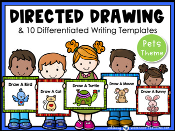 Directed Drawing With Writing Prompts - Pets (45 pgs) Whim