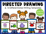 Directed Drawing With Writing Prompts Sea Life (45 pgs) Whimsy Workshop Teaching