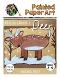 Art Lesson: Directed Drawing: Woodland Wonders - Deer