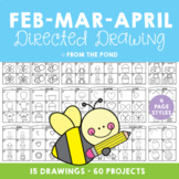 Directed Drawing & Writing Packet - February, March and April