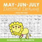 Directed Drawing & Writing Packet - May, June and July