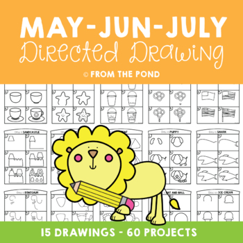 Directed Drawing & Writing Packet - May, June and July