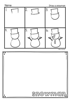 Directed Drawing & Writing Packet - November, December and January