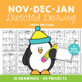 Directed Drawing & Writing Packet - November, December and January