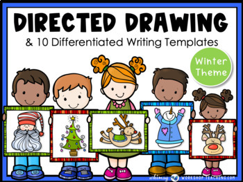 Directed Drawing and Writing - Winter and Christmas Themes