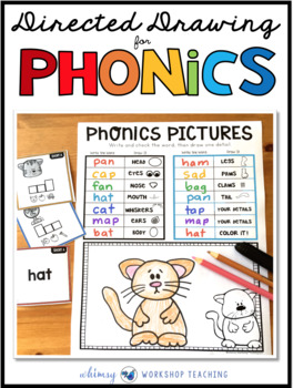 Directed Drawing for PHONICS (300+ Phonics Task Cards)