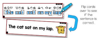 Directed Drawing for Phonics SENTENCES (140+ Phonics Sentence Cards)