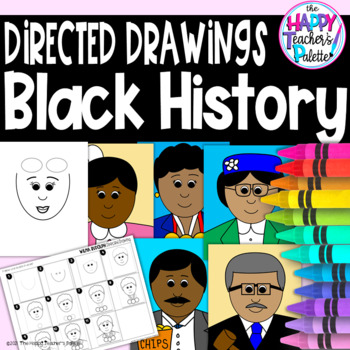 Directed Drawings ~ Black History Month~
