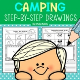 Directed Drawings: Camping Theme with Writing Option (End of Year Activities)