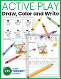 Directed Drawings – Draw, Color, and Write Active Play Theme