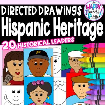 Directed Drawings ~ Hispanic Heritage Month~