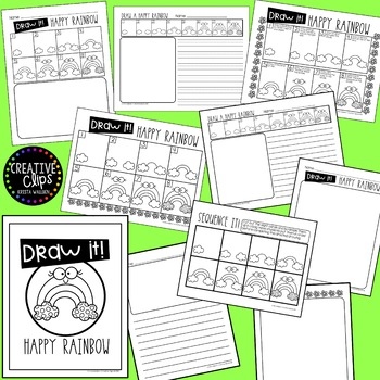 Directed Drawings: MARCH {Made by Creative Clips Clipart}