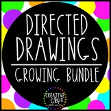 Directed Drawings Monthly Growing Bundle {Made by Creative Clips Clipart}