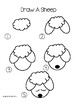 How To Draw A Puppy, A Sheep, And A Duck
