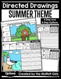 Directed Drawings Summer Theme