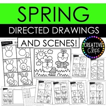 Directed Drawings and Scenes: SEASONS BUNDLE {Made by Creative Clips Clipart}