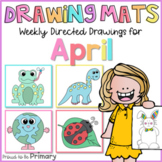Spring Directed Drawings | April  | Easter bunny, earth, f