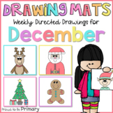 Christmas Directed Drawings | santa, reindeer, elf, tree,