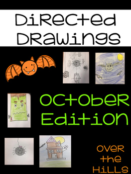 Directed Drawings for Elementary--October Edition