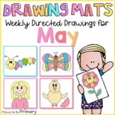 Spring Directed Drawings   Mother's Day, butterfly, caterp