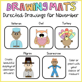 How to Draw Directed Drawings for November